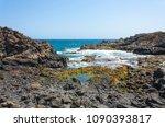 beautiful atlantic ocean...   Shutterstock . vector #1090393817
