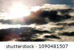 sky and cloud. cloudscape. | Shutterstock . vector #1090481507