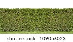 fragment of a rural fence ... | Shutterstock . vector #109056023