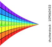 Spectrum Made Of Colorful Cube...