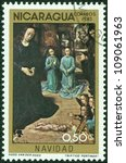 nicaragua   circa 1983  a stamp ...   Shutterstock . vector #109061963