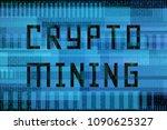 hexadecimal code algorithms.... | Shutterstock .eps vector #1090625327