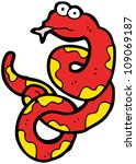 cartoon snake   Shutterstock . vector #109069187