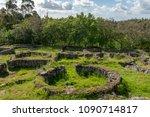 the castro de romariz is a... | Shutterstock . vector #1090714817