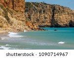 cliffs view by atlantic ocean ... | Shutterstock . vector #1090714967