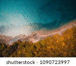 beautiful nature tropical beach ... | Shutterstock . vector #1090723997