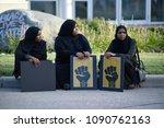 mississauga august 25  somali... | Shutterstock . vector #1090762163