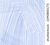 blue lines on white paper.... | Shutterstock . vector #1090800173