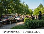 rostock  germany   may 14  2018 ... | Shutterstock . vector #1090816373