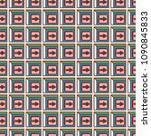 seamless abstract pattern with... | Shutterstock .eps vector #1090845833
