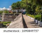 castle of fort san pedro in...   Shutterstock . vector #1090849757