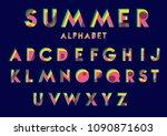 vector of modern stylized... | Shutterstock .eps vector #1090871603