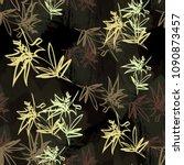 seamless pattern simple design. ... | Shutterstock . vector #1090873457