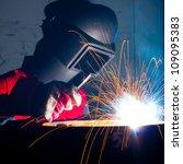 welder | Shutterstock . vector #109095383