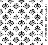 flower geometric pattern.... | Shutterstock .eps vector #1090963157