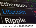 litecoin on chart of exchange...