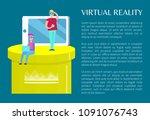 virtual reality banner...