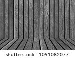 wood fence or wood wall... | Shutterstock . vector #1091082077