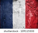The French Flag Painted On...