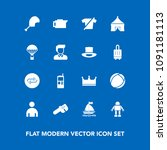 modern  simple vector icon set...   Shutterstock .eps vector #1091181113