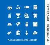 modern  simple vector icon set...   Shutterstock .eps vector #1091181167