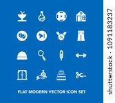 modern  simple vector icon set...   Shutterstock .eps vector #1091183237