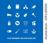 modern  simple vector icon set...   Shutterstock .eps vector #1091185043