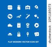 modern  simple vector icon set...   Shutterstock .eps vector #1091185073
