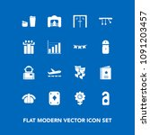 modern  simple vector icon set... | Shutterstock .eps vector #1091203457