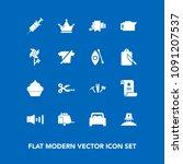 modern  simple vector icon set...   Shutterstock .eps vector #1091207537