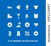 modern  simple vector icon set... | Shutterstock .eps vector #1091210447