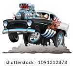 classic american fifties style... | Shutterstock .eps vector #1091212373