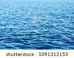 sea background. blue marine... | Shutterstock . vector #1091312153