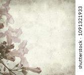 textured old paper background... | Shutterstock . vector #1091321933