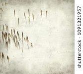 textured old paper background... | Shutterstock . vector #1091321957