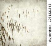 textured old paper background... | Shutterstock . vector #1091321963