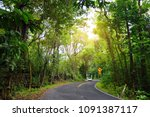 famous road to hana fraught... | Shutterstock . vector #1091387117