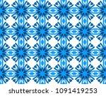 abstract geometry cornflower... | Shutterstock .eps vector #1091419253
