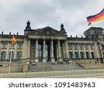 reichstag building in berlin   Shutterstock . vector #1091483963