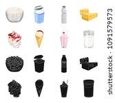 milk  calcium  product  food ... | Shutterstock .eps vector #1091579573