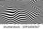 torsion illusion pattern ... | Shutterstock . vector #1091606567