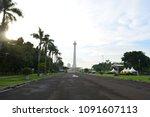 jakarta  indonesia   april 26th ... | Shutterstock . vector #1091607113
