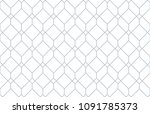 the geometric pattern with... | Shutterstock . vector #1091785373