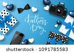 happy father's day banner... | Shutterstock .eps vector #1091785583