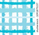 brush strokes seamless pattern. ... | Shutterstock .eps vector #1091875157