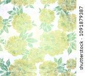 peony. seamless background....   Shutterstock . vector #1091879387