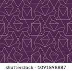 abstract geometric pattern with ...   Shutterstock .eps vector #1091898887