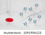 website analytics and...   Shutterstock . vector #1091906123