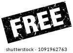 square grunge black free stamp | Shutterstock .eps vector #1091962763