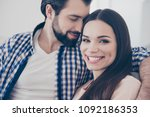 closeup cropped portrait of... | Shutterstock . vector #1092186353